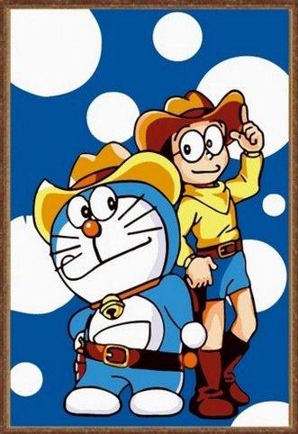 Картина по номерам 20х30 «Мальчик и кот»