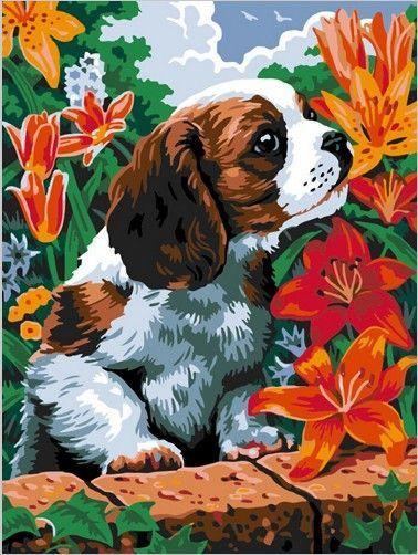 Картина по номерам 30х40 «Чудесный аромат»