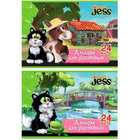 Альбом для рисования «ACTION!» GUESS with JESS