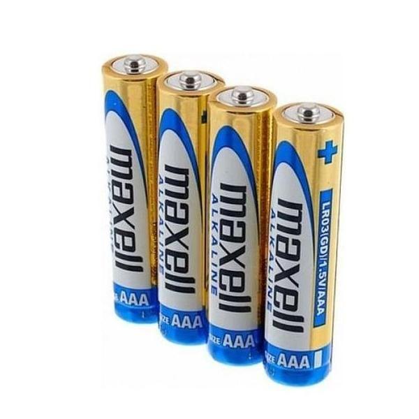 Батарейки «MAXELL» Alkaline AAA, 4 шт.
