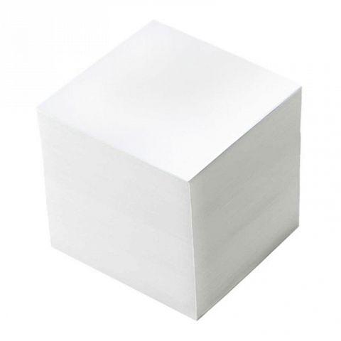 Блок бумажный, белый, 85х85х85 мм