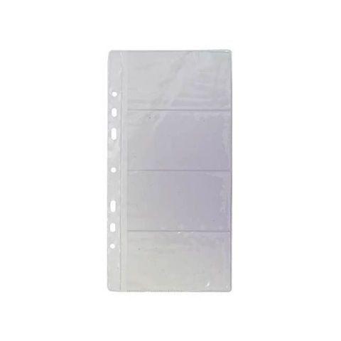 Блок для визитницы на кольцах, 10 листов «PANTA PLAST»