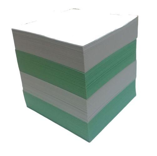 Блок для заметок «Bicolor» 85*85*85 мм, цветной