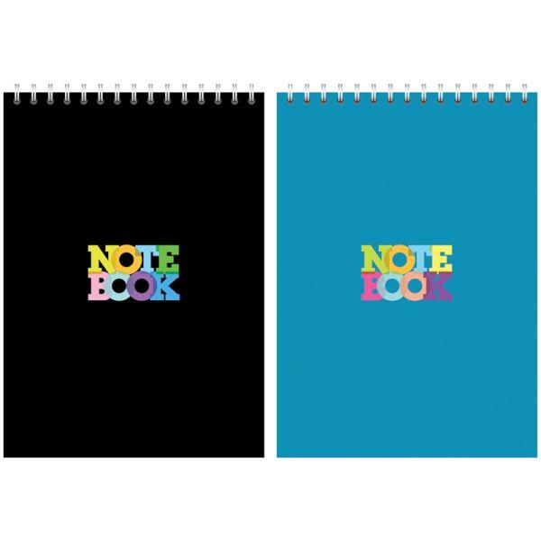 Блокнот А5, 80 листов, на гребне «Моноколор — Notebook»