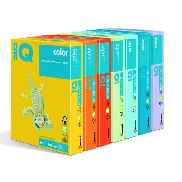 Бумага цветная «IQ Color» Intensive, 80 г/м2, А4