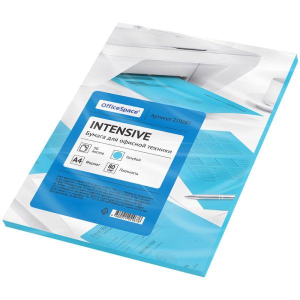 Бумага цветная «OfficeSpace» intensive, 80г/м2, А4