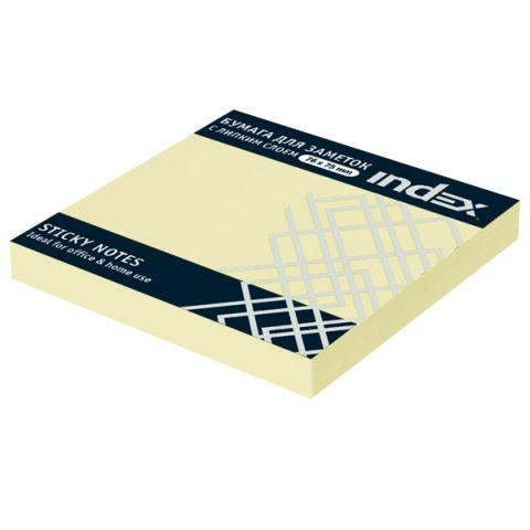 Бумага для заметок с липким слоем, 76х75 мм «INDEX»