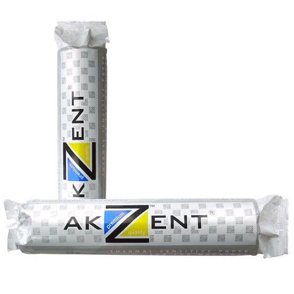 Бумага для факса 216 мм «AKZENT»