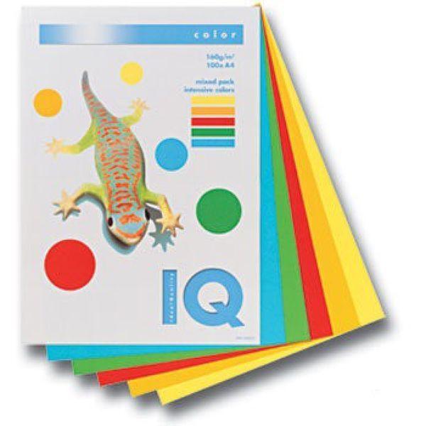 Бумага «IQ COLOR», набор интенсив, 80 г/м2, А4
