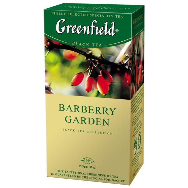 Чай GREENFIELD «Barberry Garden» черный, в пакетиках