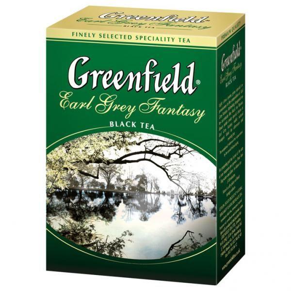 Чай GREENFIELD «Earl Grey Fantasy» черный байховый