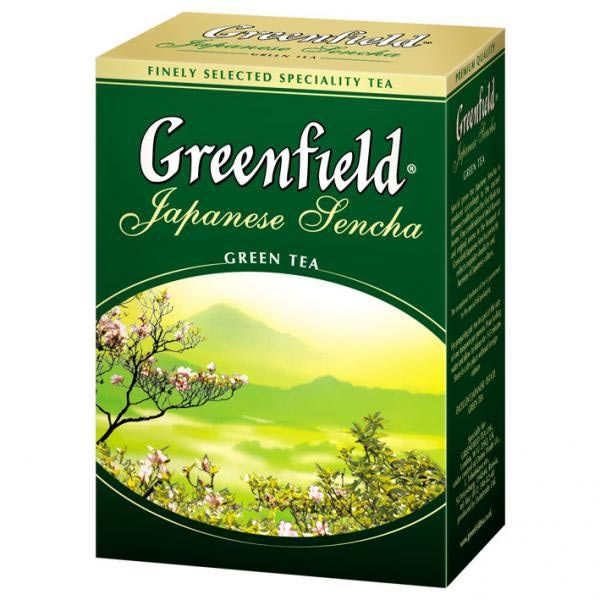 Чай GREENFIELD «Japanese Sencha» зеленый байховый