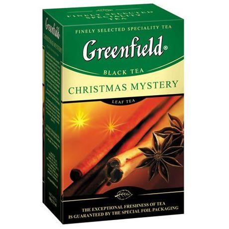 Чай GREENFIELD «Сhristmas Mystery» черный байховый