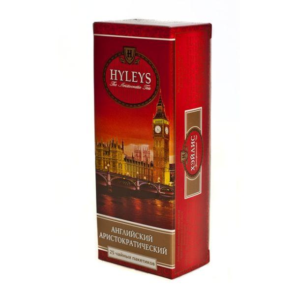 Чай HYLEYS «Английский Аристократический» черный, в пакетиках