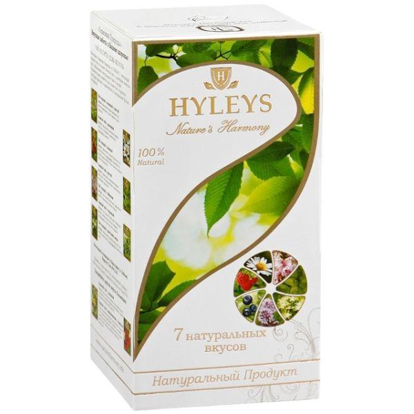 Чай HYLEYS «Гармония Природы» 7 вкусов, в пакетиках