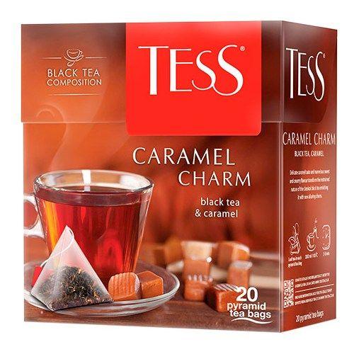 Чай TESS «Caramel Charm» черный, в пирамидках