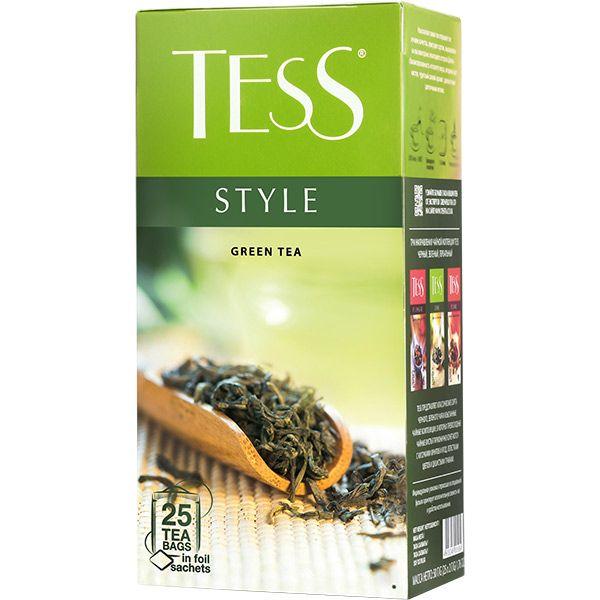 Чай TESS «Style» зеленый, в пакетиках