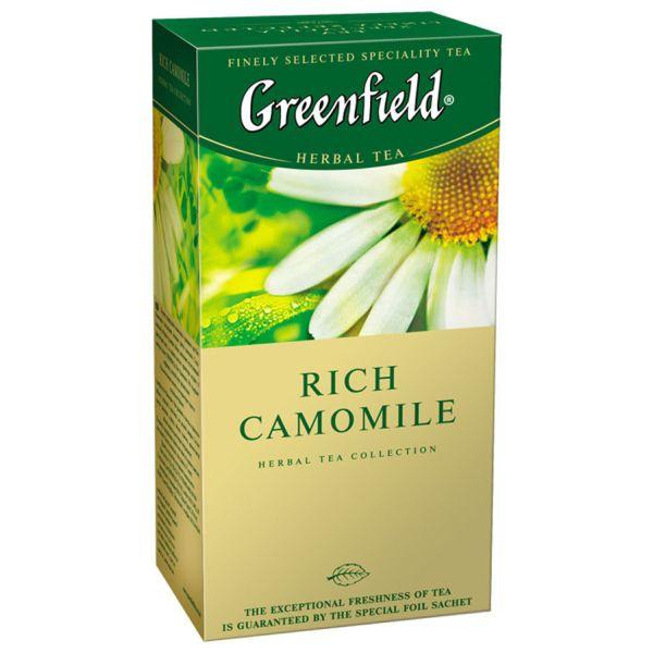 Чайный напиток GREENFIELD «Rich Camomile» в пакетиках