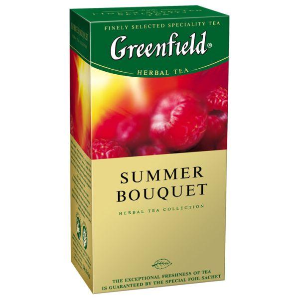 Чайный напиток GREENFIELD «Summer Bouquet» в пакетиках