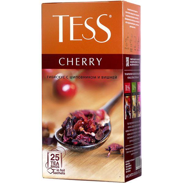 Чайный напиток TESS «Cherry» в пакетиках