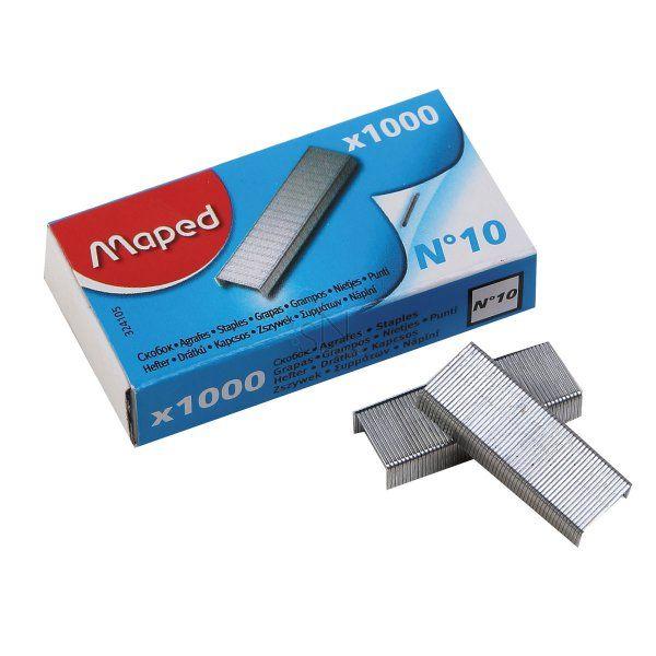 Скобы для степлера №10 «MAPED»