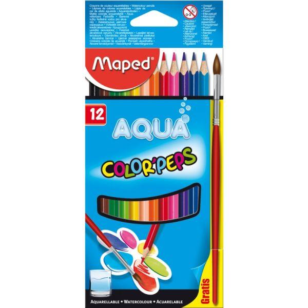 Цветные акварельные карандаши «Color Peps Aqua»
