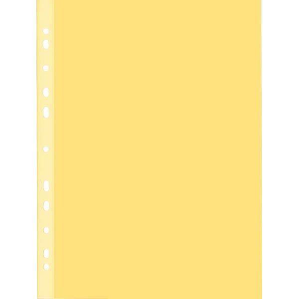 Файл канцелярский, A4 цветной «INDEX» 50 шт.