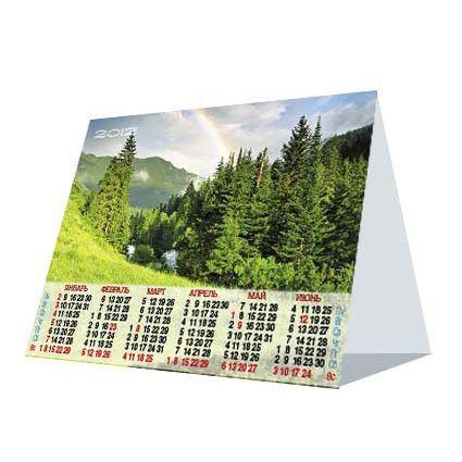 Календарь настольный «Домик»