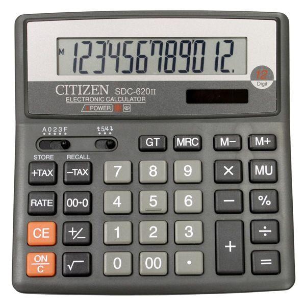 Калькулятор 12 разрядный CITIZEN SDC-620