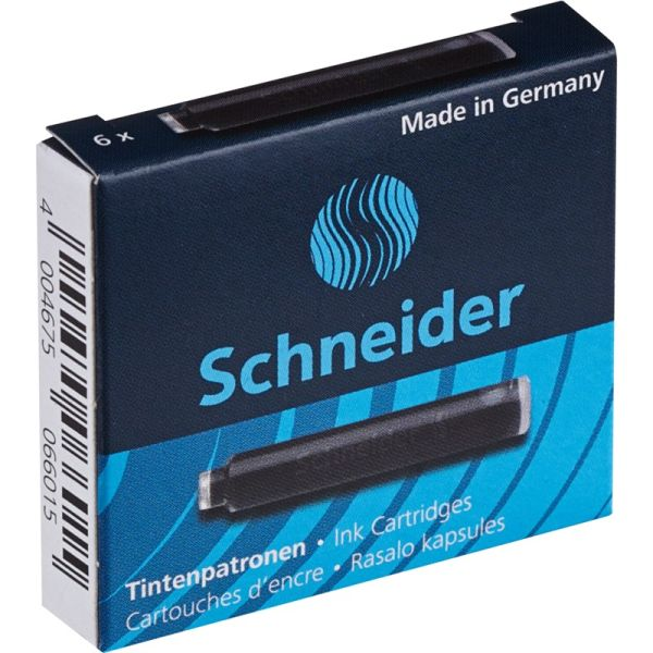 Капсулы чернильные «Schneider» 6 штук