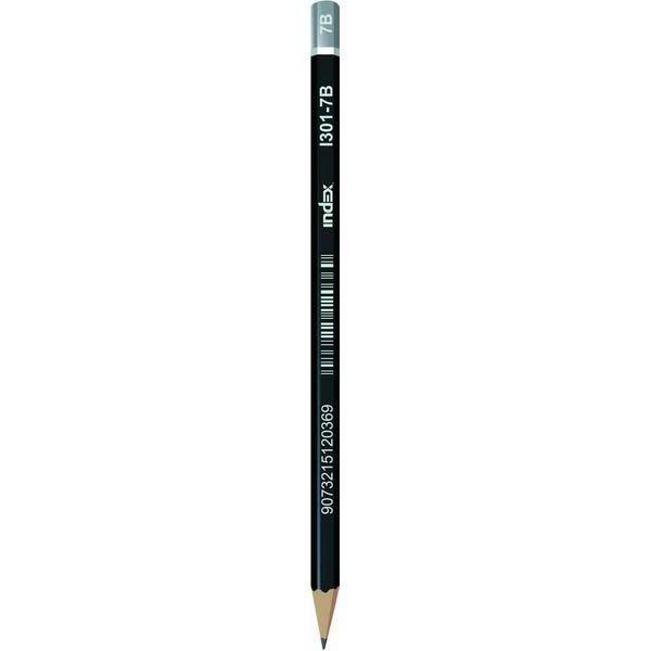 Карандаш чернографитный, шестигранный I301 «INDEX»