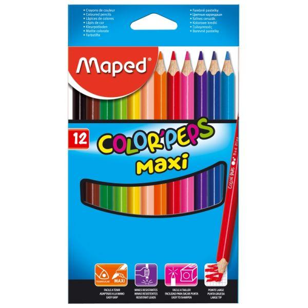 Цветные карандаши «Color Peps Maxi»