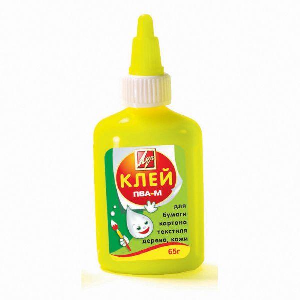 Клей ПВА-М, с дозатором «ЛУЧ»