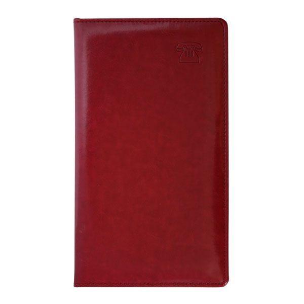 Книга телефонная алфавитная «NEBRASKA», кожзам, 130*210 мм