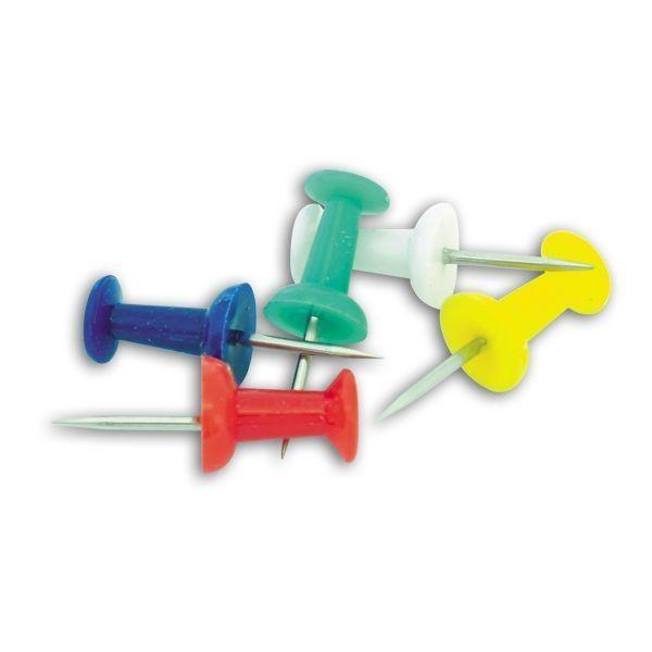 Кнопки-иглы цветные, 50 штук «SPONSOR»