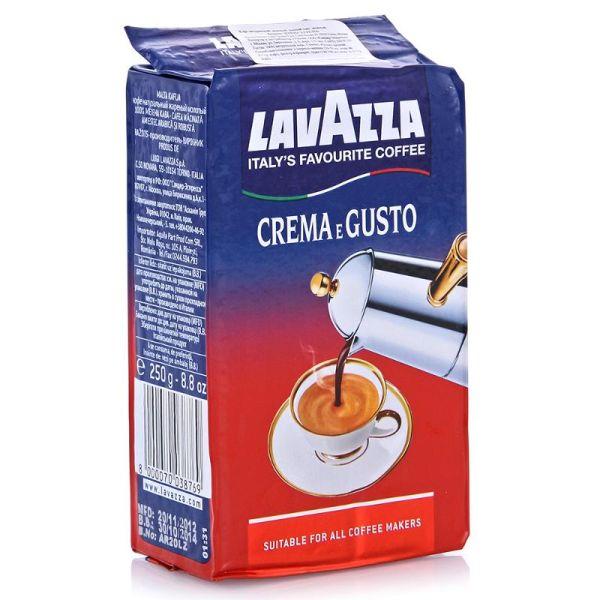 Кофе LAVAZZA «Crema e Gusto» молотый