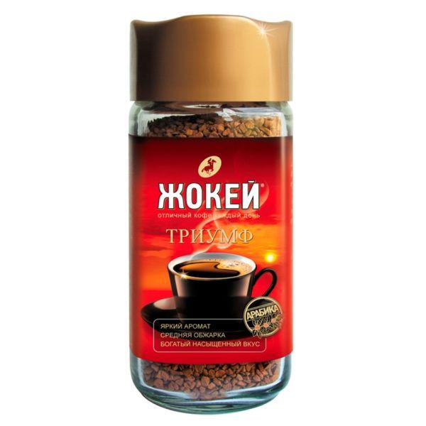 Кофе ЖОКЕЙ «Триумф» растворимый сублимированный