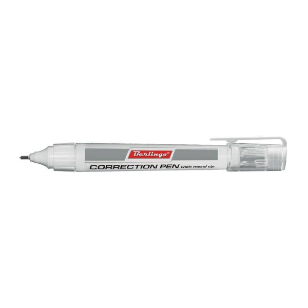 Корректирующая ручка 7 мл «BERLINGO»