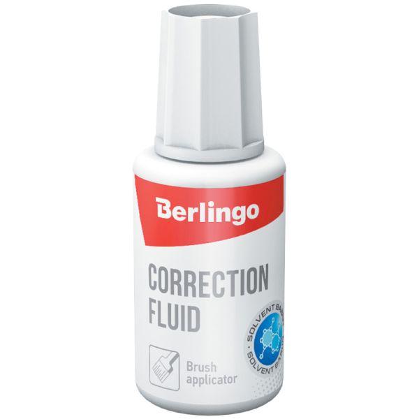 Корректирующая жидкость спиртовая «BERLINGO»