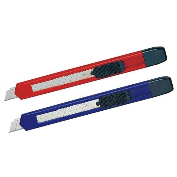 Нож канцелярский малый, 9 мм «Deli»
