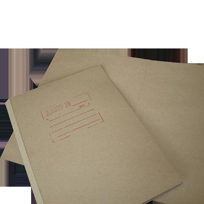 Обложка «Дело» А4, картон серый
