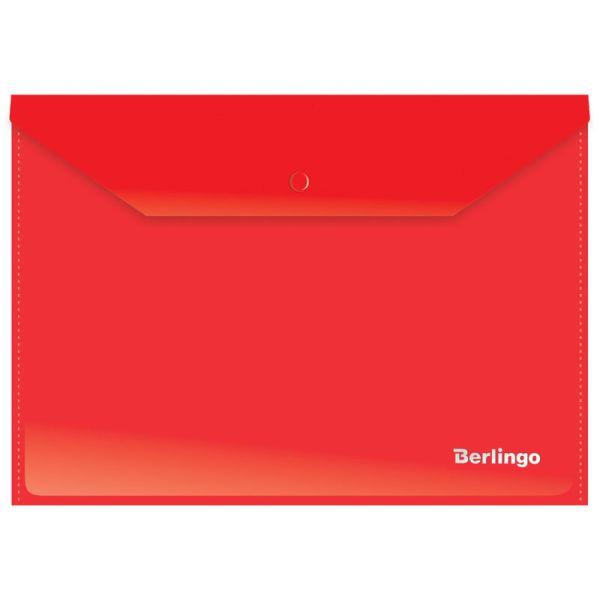 Папка-конверт на кнопке А4 «Berlingo», 180 мкм