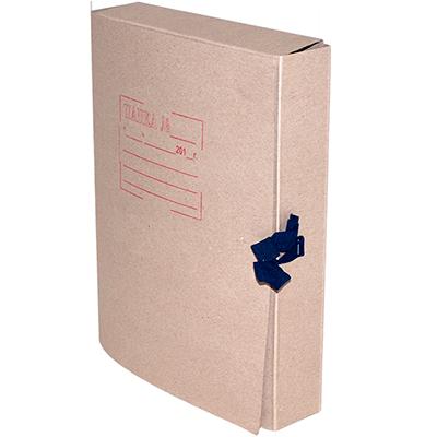 Папка на завязках архивная, А4, картон