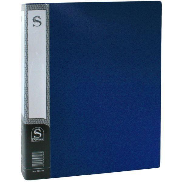 Папка с 100 файлами, А4 «SPONSOR»