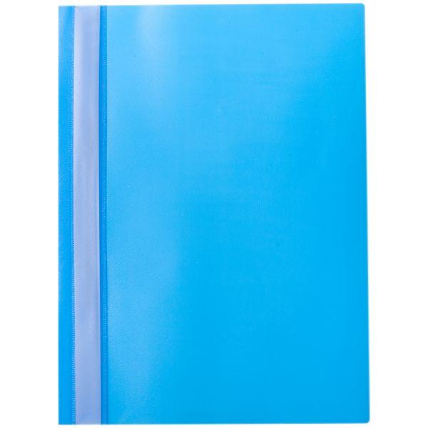 Папка-скоросшиватель с прозрачным верхом, пластик «OfficeSpace»