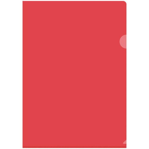 Папка-уголок А4, 150 мкм, прозрачная «OfficeSpace»