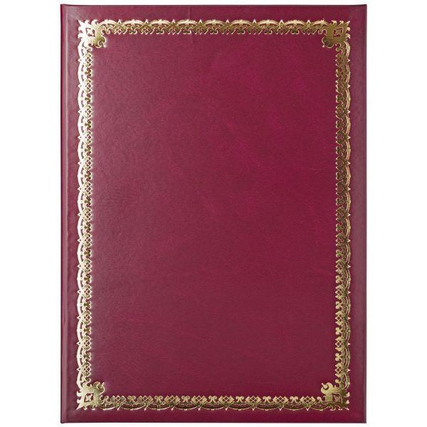 Папка «ХУДОЖЕСТВЕННАЯ РАМКА 3», бумвинил, красная