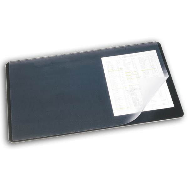 Подкладка настольная бювар 40*53 см с прозрачным верхом