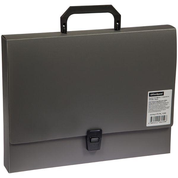 Портфель пластиковый А4 «OfficeSpace» на 1 отделение