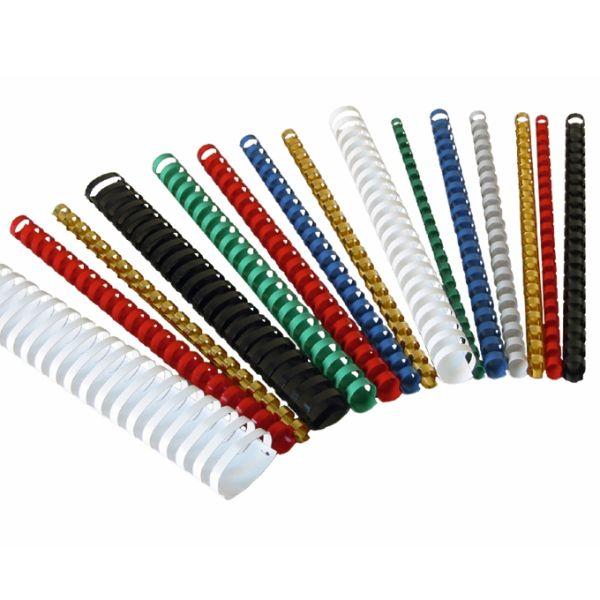 Пружины для переплета пластиковые 10 мм